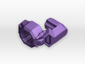 TR Galvatron Cannon Adaptor in Purple Strong & Flexible Polished