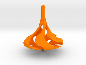 LEGEND Spinning Top in Orange Strong & Flexible Polished