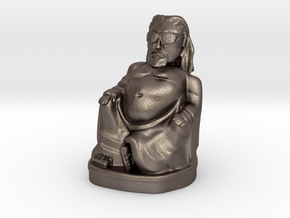 Dude Buddha 2in Printing Ready in Stainless Steel