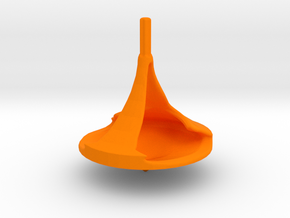 ZWEIBLADE Spinning Top in Orange Strong & Flexible Polished