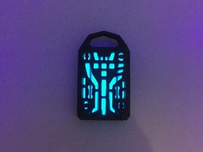 Digital Lantern X5: Tritium (all Materials) in Matte Black Steel
