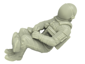 NASA Space Shuttle Crew Mission Specialist 1:72 in White Strong & Flexible