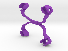 Pendent in Purple Strong & Flexible Polished