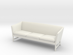 1:24 - OW603 Sofa - Ole Wanscher. in White Strong & Flexible