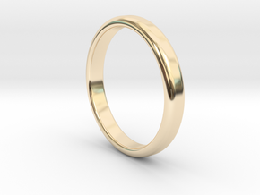 Ring Band Size 7 in 14k Gold Plated