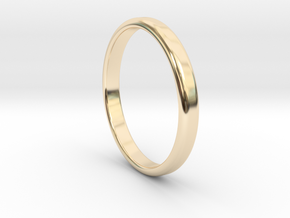 Ring Band Size 11 in 14k Gold Plated