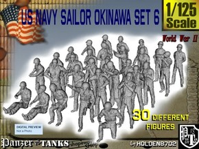 1/125 US Navy Okinawa Set 6 in Frosted Ultra Detail