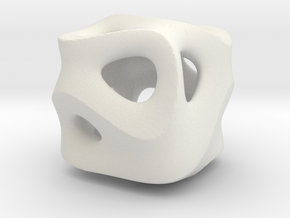 Ground Cube in White Strong & Flexible