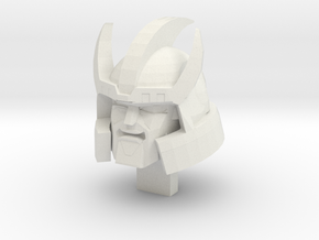 Galvatron TR Head Alternate Mouth in White Strong & Flexible