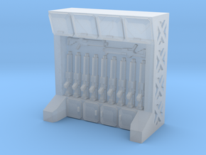 15mm-Scale Arms Rack/Locker in Frosted Ultra Detail