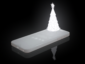 iPhone 5 Christmas Tree  in White Strong & Flexible