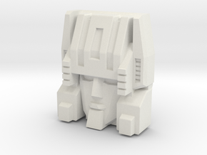 Cerebros, Toy Style (Titans Return) in White Strong & Flexible