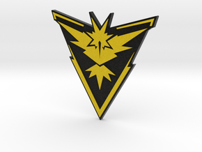 Pokemon Go - Team Instinct Badge 2 in Full Color Sandstone