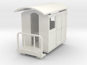 55n9 Guard luggage van  in White Strong & Flexible