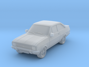 1:87 escort mk 2 2 door rs square headlights hollo in Frosted Ultra Detail