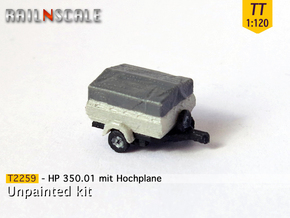 HP 350.01 mit Hochplane (TT 1:120) in Frosted Ultra Detail