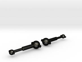 NRC-32 Driveshafts / Dogbones in Matte Black Steel