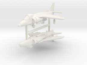 1/350 Harrier GR7/9 (x2) in White Strong & Flexible