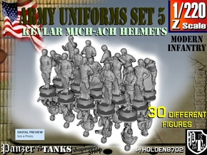 1-220 Army Modern Uniforms Set5 in Frosted Extreme Detail