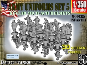 1-350 Army Modern Uniforms Set5 in Frosted Extreme Detail
