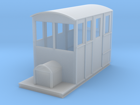 Tralee & Dingle Railcar 4mm scale 009 in Frosted Ultra Detail