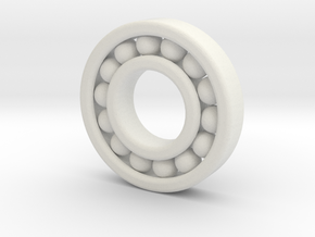 Ball Bearing 50 Mm Diameter in White Strong & Flexible
