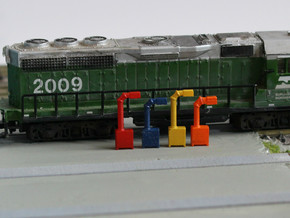 N Scale 12x Boom Cabinet in Frosted Ultra Detail