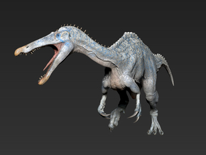 Suchomimus middle size in White Strong & Flexible