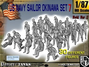 1/87 US Navy Okinawa Set 7 in Frosted Ultra Detail