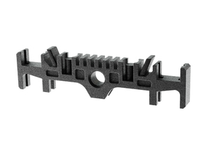 GRFLX 2.0 Clamp Switches Holder in Flexible Plasti in Black Strong & Flexible
