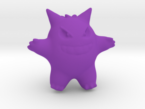 Gengar in Purple Strong & Flexible Polished