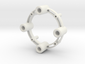 Stacking Circle in White Strong & Flexible