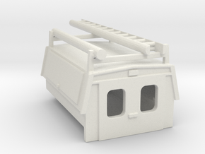 Utility Enclosure RPS Truck Bed With Ladder/Pipe 1 in White Strong & Flexible: 1:87