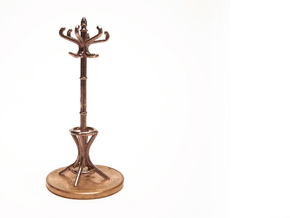 1:48 Hatstand in Raw Bronze