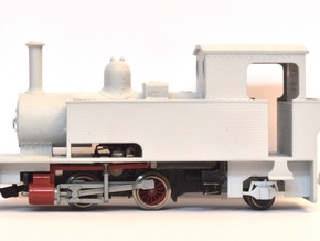 """WHR Ltd. Bagnall 3050 """"Gelert"""" (009 Scale) in Frosted Ultra Detail"""