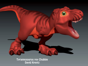 T.rex Chubbie Krentz in White Strong & Flexible