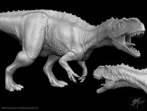 Yangchuanosaurus 1/40 Roaring in White Strong & Flexible