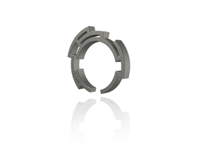 Way out ring - Size 6.75 in Polished Bronze