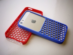 50/50 case for iPhone 5/5s in Blue Strong & Flexible Polished