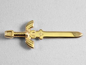 Master Sword in 18K Gold Plated