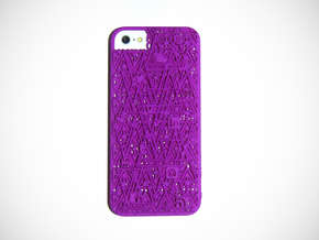 RAM iPhone 5 Cover  in Purple Strong & Flexible Polished