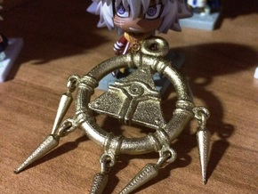 3/10 Scale Millennium Ring - Yu-gi-oh! in White Strong & Flexible