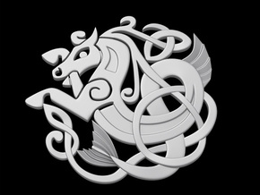 Celtic Coaster in White Strong & Flexible