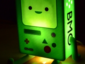 BMO Lamp in Color in Full Color Sandstone