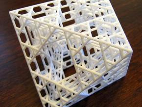 Octahedron fractal graph in White Strong & Flexible