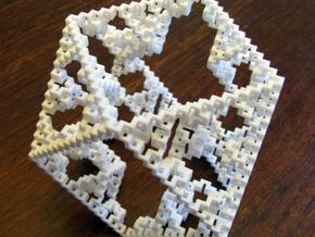 Cuboctahedral fractal graph in White Strong & Flexible