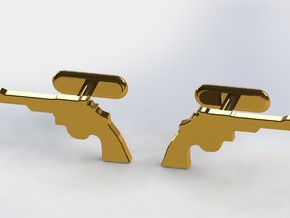 .44 MAGNUM CUFFLINKS in Stainless Steel