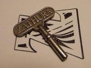 Zathura key in Stainless Steel