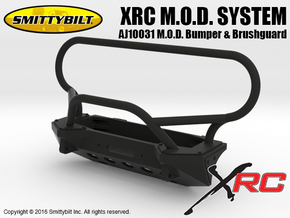 AJ10031 Smittybilt XRC M.O.D. Bumper & Brushguard in Black Strong & Flexible