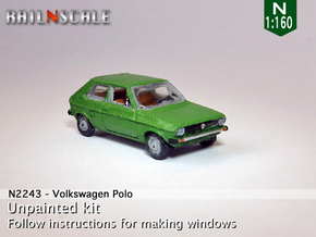 Volkswagen Polo 1 (N 1:160) in Frosted Ultra Detail